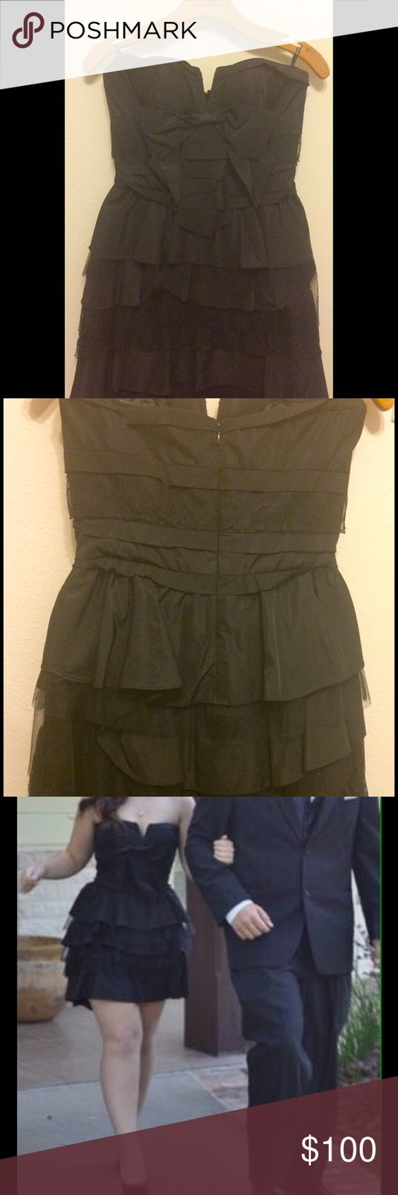 Bebe dress size s strapless black school dances high low and bebe dress size s strapless black price22900 brand bebeout of stock ombrellifo Choice Image