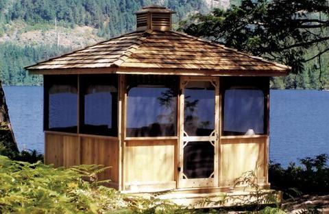 Square Gazebos Gazebo Outdoor Pergola Backyard Gazebo