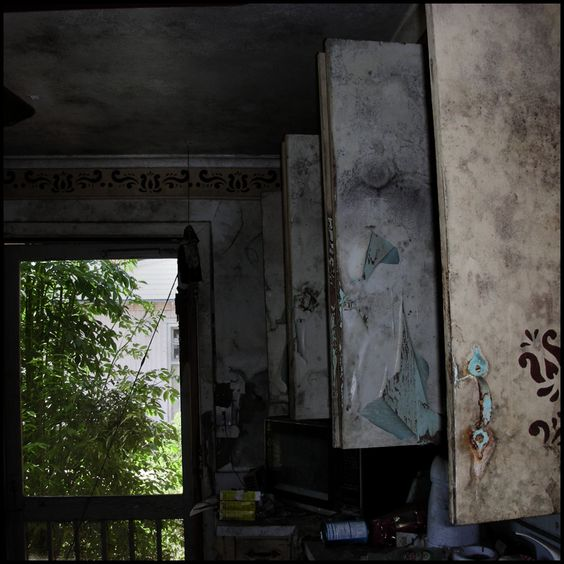 Kitchen  Ninth Ward, New Orleans USA 2006 © Incognita Nom de Plume