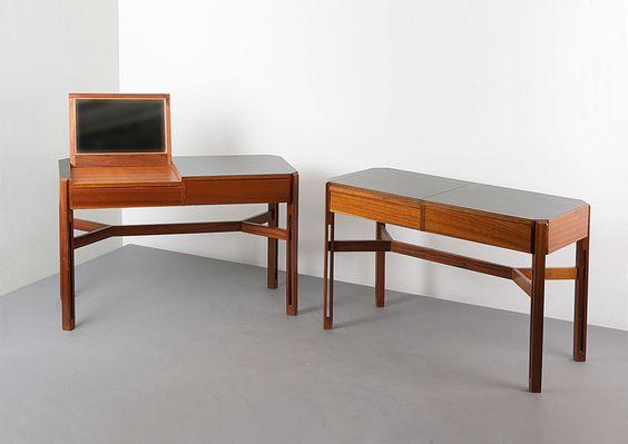 Quittenbaum  Zwei Frisiertische, 1961 Künstler:Parisi, Ico (zugeschrieben)Hersteller:Bernini, Carate Brianza