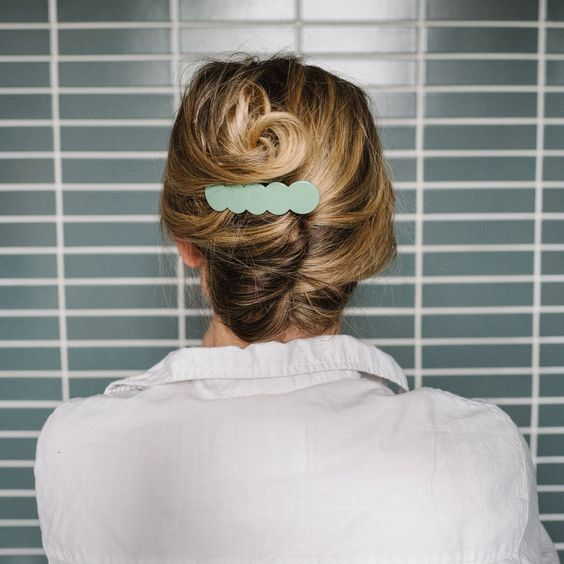 The French twist modern hairstyle