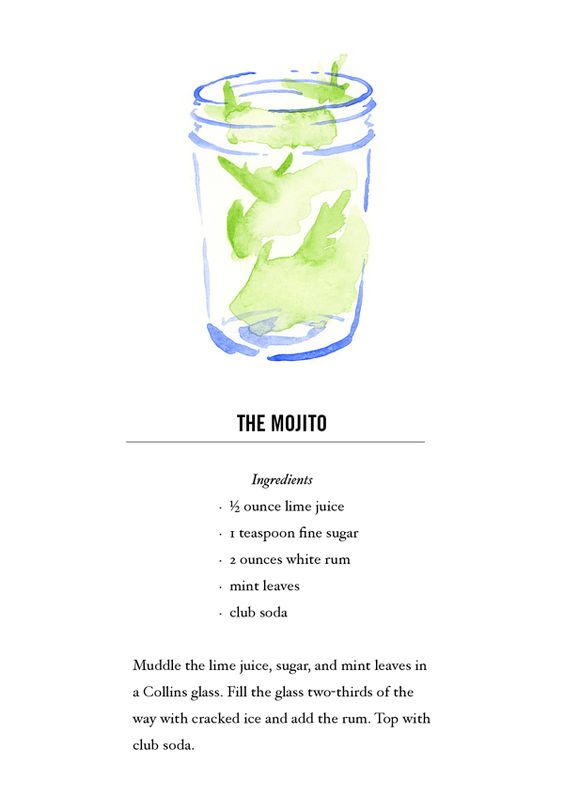 17 Best Images About Recipe Theme Mojito Cocktail