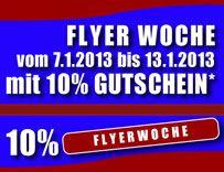 aktuell: Flyer Woche bei online Druckerei www.wagnermedia24.de