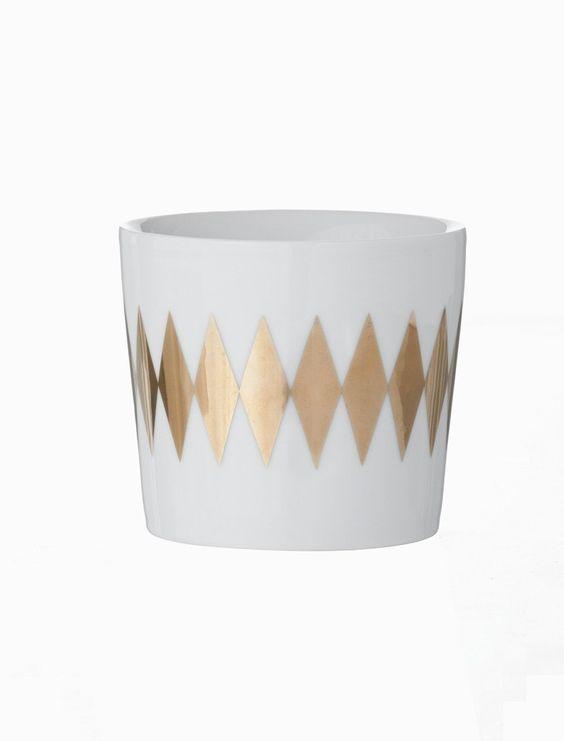 Ferm Living Shop — Harlequin (Gold) Thermo Mug