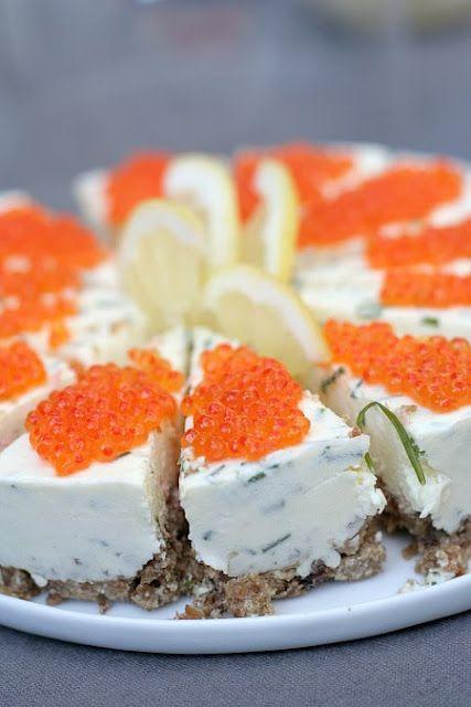 cheesecake au saumon / gateau suédois
