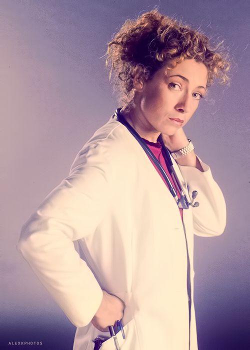 Alex in as Elizabeth Corday