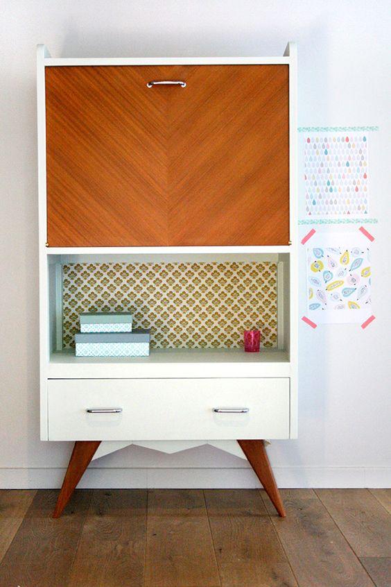 meubles secretaire vintage pied compas 6 r nov s d coration pinterest beautiful mon coeur. Black Bedroom Furniture Sets. Home Design Ideas