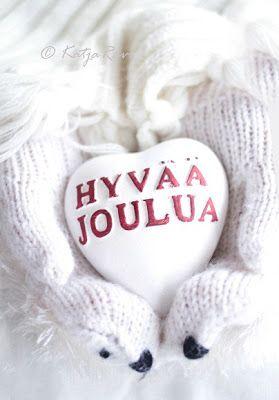 Hyvää Joulua! Merry christmas in finnish ♥: