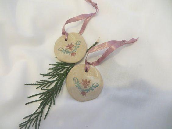 Hand made Christmas tree ornaments