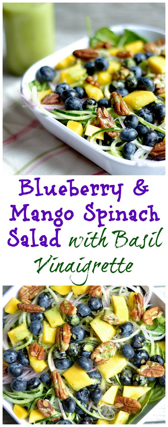 Bright, tangy, and bursting with fruity flavor! A perfect main dish salad or side. Dairy-free, and Paleo.