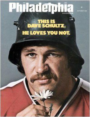 Fly-Guys. Dave Schultz. Philadelphia Flyers.