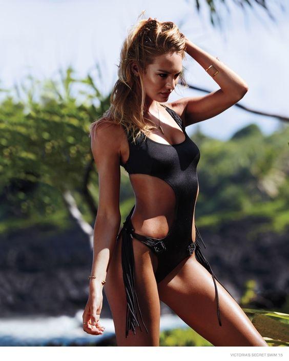 Candice Swanepoel for Victoria's Secret Swim 2015 in Puerto Rico January 2015 #somethingbigiscoming VS Swim Special