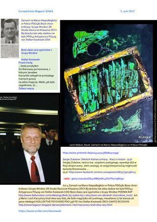 Zamach na marsz niepodleglosci w polsce pdo481 boze chron krolowa i grupe windsor zr ssetkh zech bij  radio: https://gloria.tv/audio/DD4uR8KjtsRL4ZNJTEem98X3w Zamach na Marsz Niepodleglosci w Polsce PDO481 http://sowa-magazyn.blogspot.ro/2017/06/zamach-na-marsz-niepodlegosci-w-polsce.html http://sowa.quicksnake.cz/HERODY-Herodenspiel-von-Stefan-Kosiewski/jesli-pierwszy-to-Kaczynski-a-drugi-Kaminski-a-trzeci-Duda-PDO479-zgodnie-z-orzeczeniem-SN-20170531-ME-SOWA-FO-von-Stefan-Kosiewski-SSetKh-ZECh