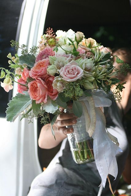 Love this lady and her lovely flowers!! organic flowers by Floret Flower Farm www.floretflowers.com
