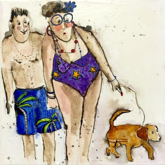 Cécile Colombo, Pierre Monique et Filou