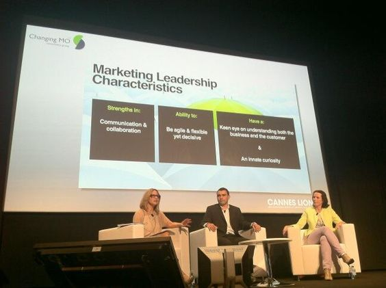 By @Josie Harold : CMOs on how to find & foster the best talent. Really insightful & interesting discussion #canneslions