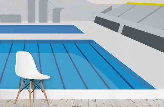 READY FOR RIO? Check out these #Olympics inspired wallpaper murals from muralswallpaper.co.uk