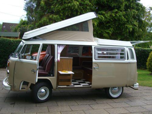 VW Campervan 1974 Wesfalia 'Peggy' Holiday/Short Break Hire cw BRAND NEW FRIDGE | eBay