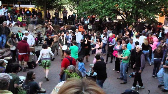 Asheville Drum Circle - YouTube