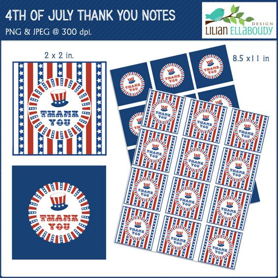 fourth of july thank you images