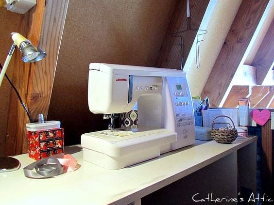 The Sewing Attic: Janome 6260QC.
