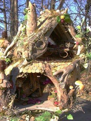 The Fantasy Forest The Mushroom Fairy House Julie