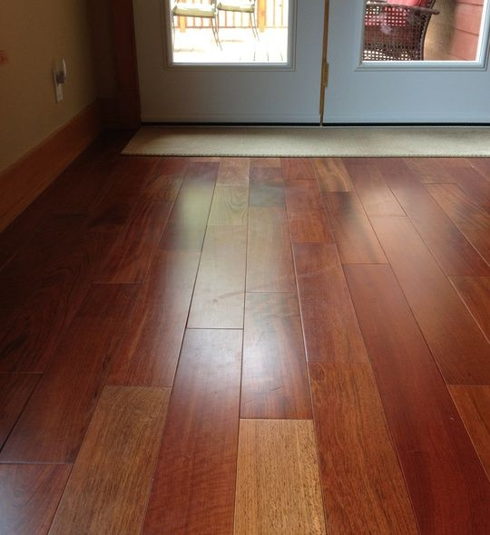how to clean a grooved hardwood floor