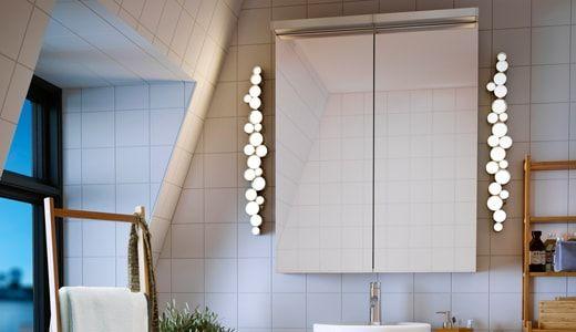 Wall Lamp Bathroom Lighting, Ikea Bathroom Vanity Lights