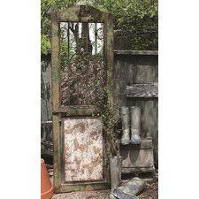 Secret Garden Door with Mirror