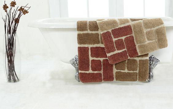 Berkeley 2 Piece Bath Rug Set
