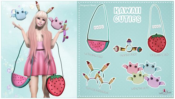 LUAS KAWAII CUTIES GACHA COMPLETE | Flickr - Photo Sharing!