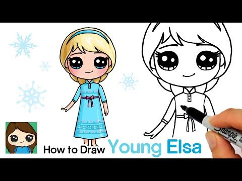 How To Draw Disney Frozen Characters Youtube Easy Disney Drawings Cute Disney Drawings Kawaii Drawings