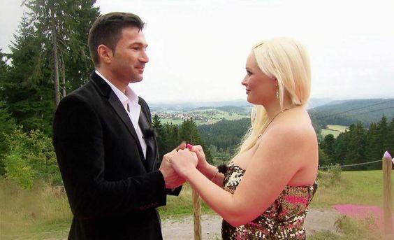 Die Frage aller Fragen: Lucas Cordalis hielt um die Hand seiner Daniela an.
