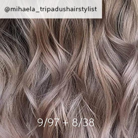 13++ Mushroom brown hair color formula wella trends