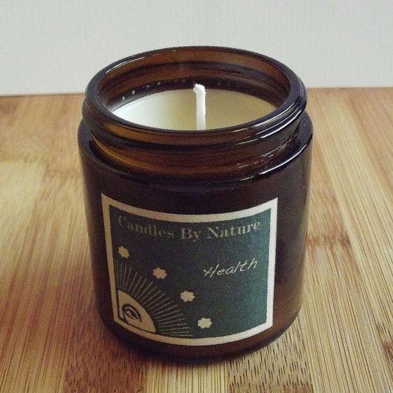 Vegan Candle Natural Soy / HEALTH / Rosemary, Juniper, Sage ...
