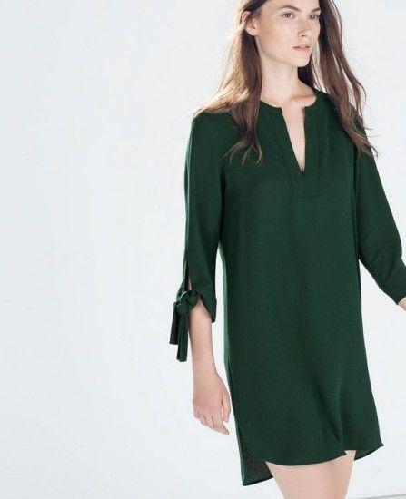 Abbigliamento Premaman: le Proposte più Glam di Zara, Prenatal e Oviesse Abbigliamento premaman Zara tunica