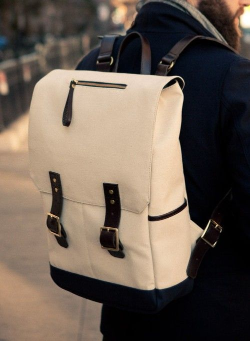 5 Bag's Every Man Should Own, men's bag, men's canvas backpack
