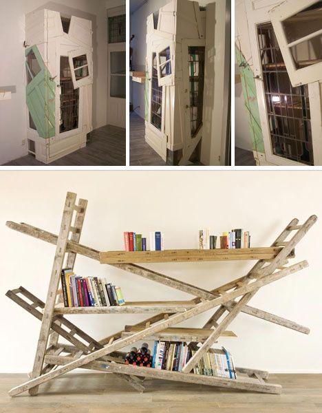 Ladder shelve?