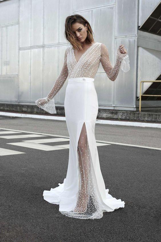Joni By Rime Arodaky In 2020 Most Beautiful Wedding Dresses Winter Wedding Gowns Used Wedding Dresses