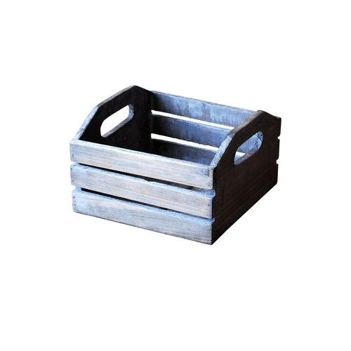 Hampton Art Mix The Media Wooden Crate With Handles A Fun Start To Your Crafting Projects Add Into Your Home Hamptons House Crates Wooden Crates With Handles