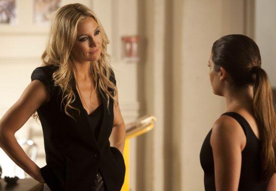 Glee Season 4 Premiere - Kate Hudson & Lea Michele
