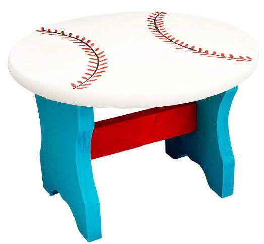DecoArt® Baseball Stool #craft #craftpainting