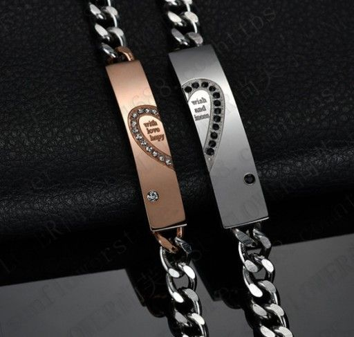 Bransoletki Dla Par Serce Prezent Walentynki Hit 7824093251 Oficjalne Archiwum Allegro Cartier Love Bracelet Love Bracelets Jewelery