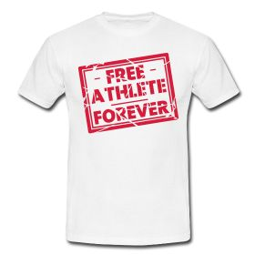 Free Athlete Forever Logo Design   #clapclap #noexcuses #freeletics #freeathlete #athlete #words4goodlife #goodlife #motivation #logo #design #love #crossfit #herz #liebe #athlet #workout #heart #fitness #beautiful #fashion #amazing #style #cool #look #nice #new #good #life #sport