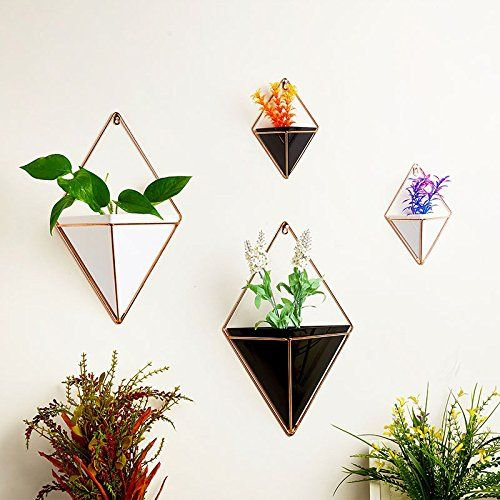 Picturesque Trendy And Attractive Flower Wall Vases Hanging Flower Pots Flower Pot Holder Hanging Plant Wall