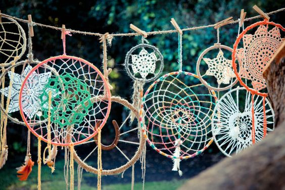 Dreamcatchers by wildheartwhispers on Etsy.