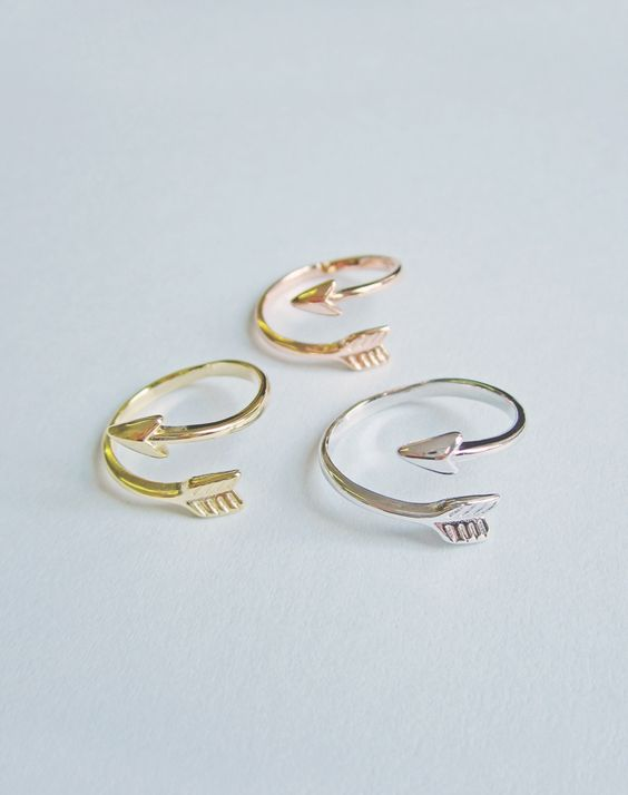 Stay True Arrow Ring — Eclectic Eccentricity Vintage Jewellery
