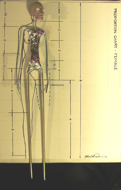 How to make your armature to scale so it fits into the proportions of whatever size you want for your finished figure.