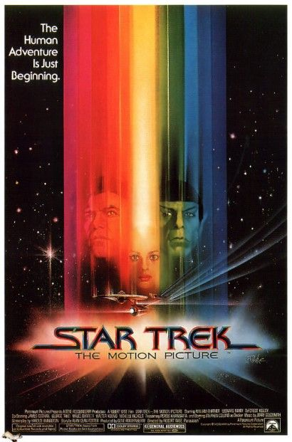 all sci fi movies | Sci-Fi Movie Poster of the Day: Star Trek - The Motion Picture - The ...