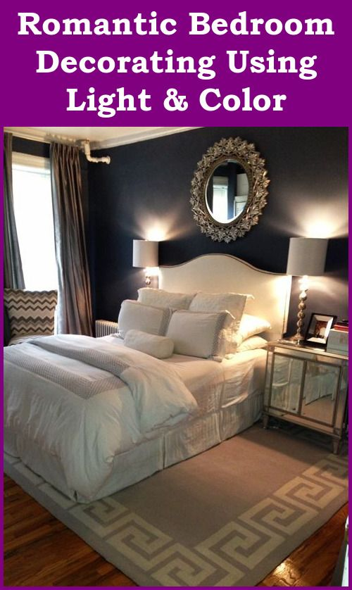 Romantic Bedroom Decorating Light And Color Romantic Room